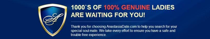 AnastasiaDate anti-scam policy